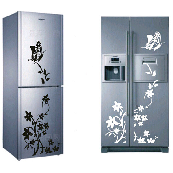 High Quality Creative Butterfly Pattern Refrigerator Sticker Wall Stickers Home Decor